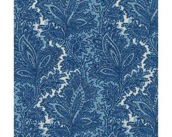 Paisley blue ref 120/6693 patchwork fabrics