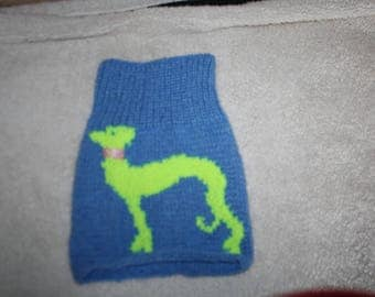 Greyhound snood neck