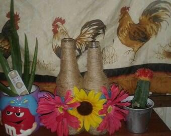 flower power vase set of 2