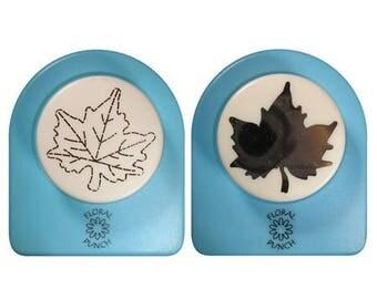 Perfo Kit + embos 3 cm_FLP019 large oak leaf