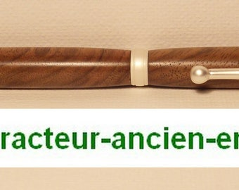 PEN in Walnut wood