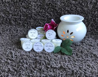 AngelRox Melts - 25 grams 12+ hour burn time - double scented - Home made Soy Candles all Australian products used