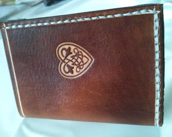 credit card holder Celtic decor