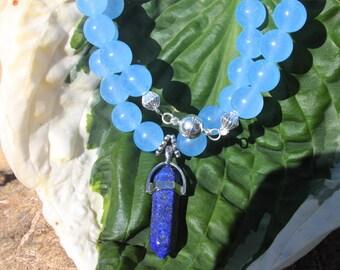 Necklace of blue sky