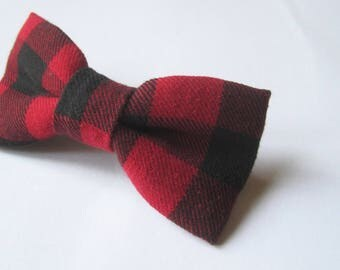 Simple bow tie French Barrette.