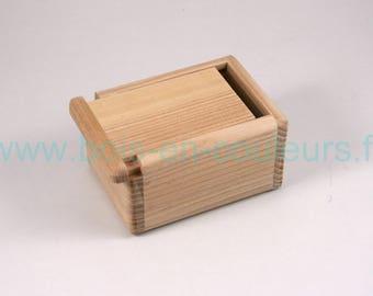 Solid Ash traveler soap box