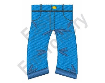 Blue Jeans - Machine Embroidery Design