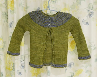 Baby Cardigan Size 12 months Green