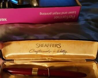 Sheaffers snorkel fountain pen