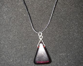 240. Deep Ruby Red Pendant