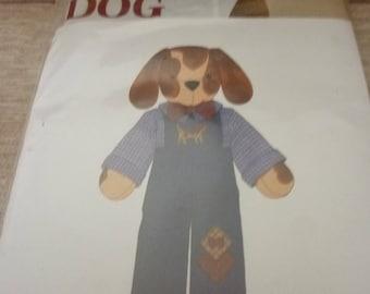 1 creative kit Screenprinted Mister dog fabric