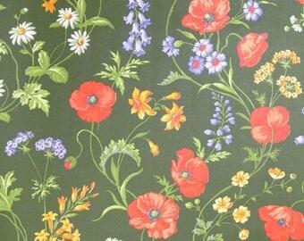 Vintage Wallpaper Wiesenblumen per meter