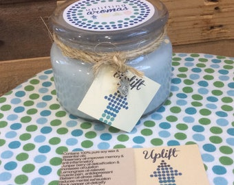 Uplift Soy Candle (100% pure essential oils)