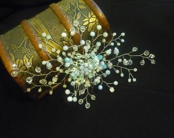 bridal hair comb- wedding hair comb-hair comb-wedding headpiece-crystal hair comb-bridal hairpiece
