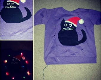 Light-Up Christmas Sweater