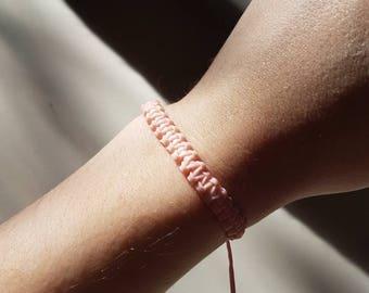 Pink Scoubydoo Shambala bracelet