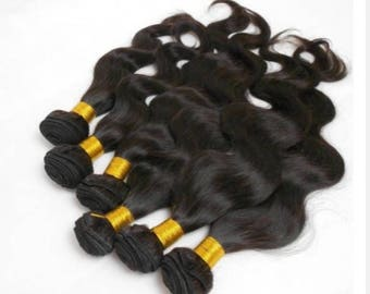 One Full Single Curly  Hair Bundle