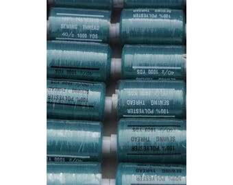 wire green polyester 1000 yards 271