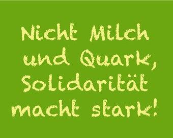 Milch und Quark