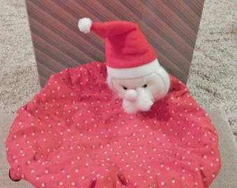 Vintage Avon Collectibles Santa Basket Christmas Decor