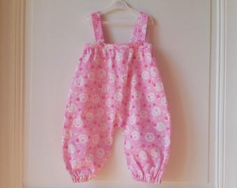 Long legs 24months Japanese cotton romper