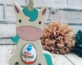Unicorn Egg Holder, Easter, Kinder Egg Holder, Unicorn, Unicorn Gift, Unicorn shelfie, Unicorn Keepsake, Easter Egg Holder, Easter Keepsake