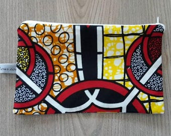 MAKE UP BAG OR WALLET IN WAX