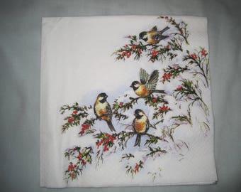 decorative bird towel