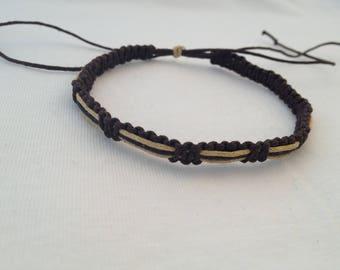 Macrame knotted Friendship Bracelet