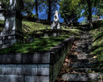 Cemetery in Maine - Cemetery Photography - Maine Photography