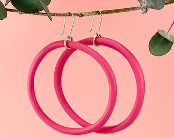 Barbie Pink Hoop Earring | Big Mama