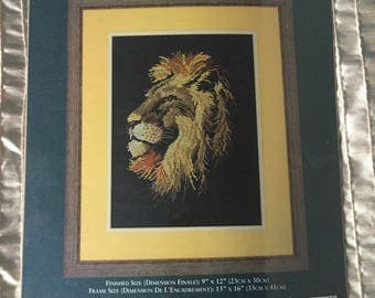 "Needle Treasures Counted Cross Stitch Kit ""BEAUTY AND POWER"" #04729"
