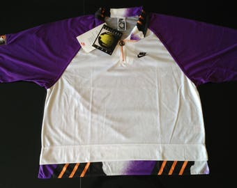 Vintage Nike Andre Agassi Challenge Court Shirt, French Open 1991, Size Large, Brand New With Tags!