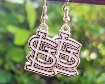 St. Louis Cardinals STL Earrings