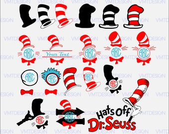 Dr Seuss Svg - Dr Seuss Hat Svg - Dr Seuss Cap Svg - Dr Seuss Hat Clipart - Dr Seuss Hat Files, files download svg, eps, jpg, png