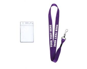 Custom Bulk Lanyards| 5 lanyards| Lanyards for Teachers| Lanyards for Nurses| Lanyards| Purple Lanyards| Personalized Lanyards| Bulk lanyard