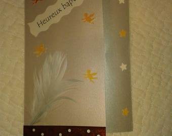 Card special congratulations baptism and 2nd birthday boy