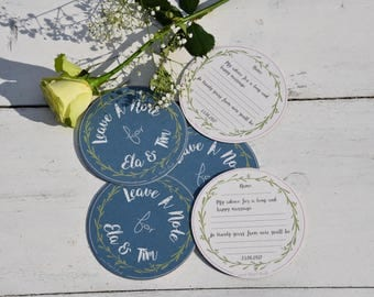 personalized wedding - coasters-