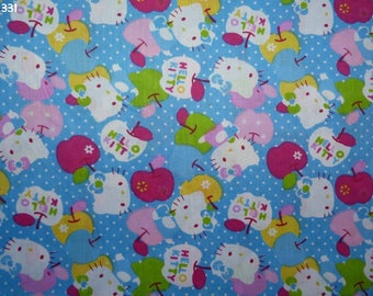 Fabric C331 Kitty coupon 50x50cm