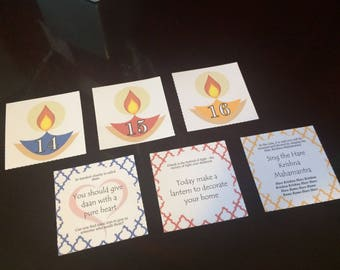 Diwali Activity Cards *PRINTABLE*