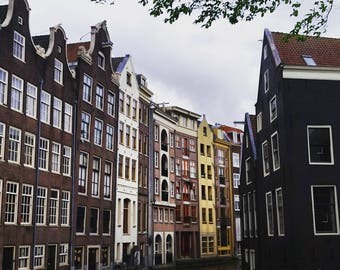Houses of Amsterdam, Urban Photography