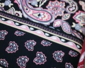 VERY nice black 100% cotton fabric