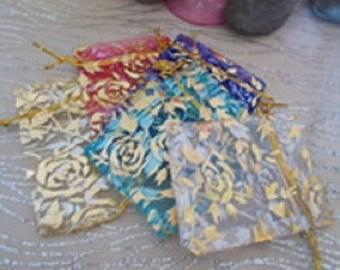 Set of 2 bags in orgonza