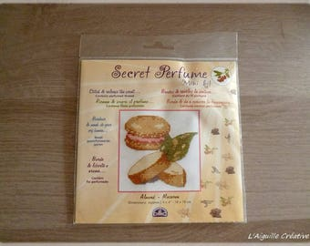 Mini Secret perfume DMC cross stitch kit