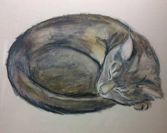 Custom Pet Watercolor Painting