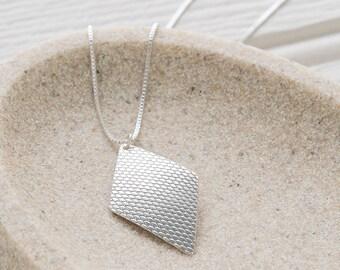 Heirloom Diamond Shaped Pendant