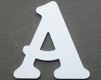 Letter PVC plastic model BELSHAW; all letters available