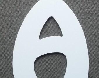 DESTASH letter PVC plastic model HARLEQUIN