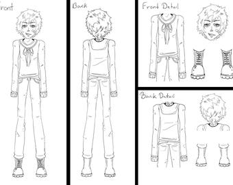 Clay Donovin - Character concept - Claim What is mine