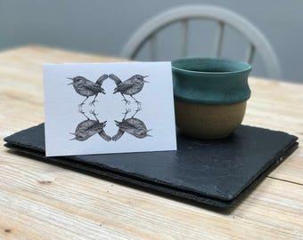 Wren Card, designed & made in the UK